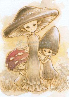 mushroom people - Google Search