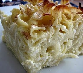 Kugel. A.k.a. noodle pudding. A.k.a. the best thing about having a Jewish best friend.