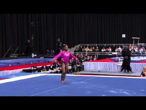Simone Biles - Floor Exercise - 2015 AT&T American Cup - NBC - YouTube