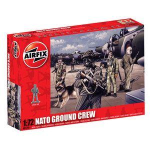 Airfix 1:72 NATO Personnel  Plastic Figures