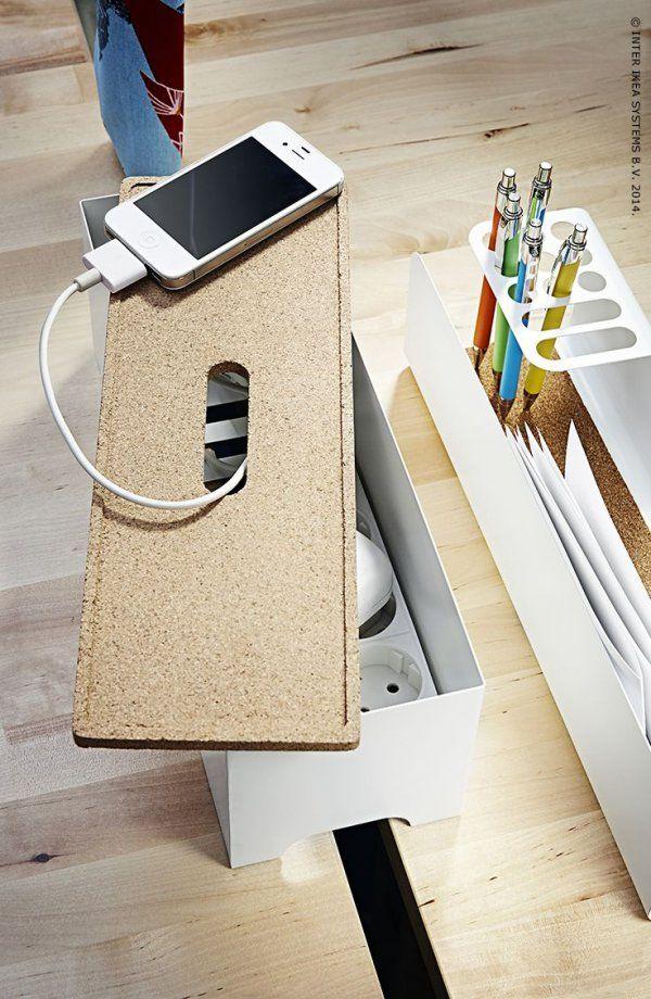 Adopter la boîte range-câbles IKEA