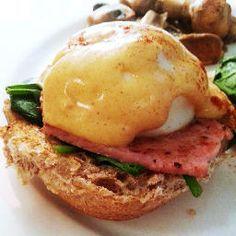 Eggs benedict.  Slimming World Recipe. Fantastic blog.