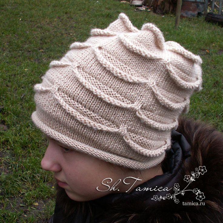 шапка с кармашками