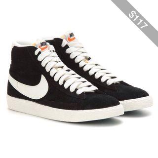 Nike Nike Blazer Mid Vintage Suede High-Top Sneakers