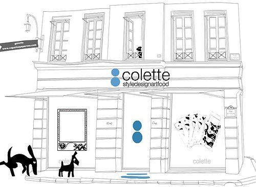 Colette, Parigi