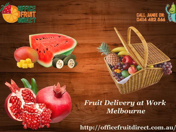 Fruit Delivery at Work Melbourne Source: http://officefruitdirect.com.au/