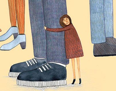 """Check out new work on my @Behance portfolio: """"Childhood"""" http://be.net/gallery/35099035/Childhood"""