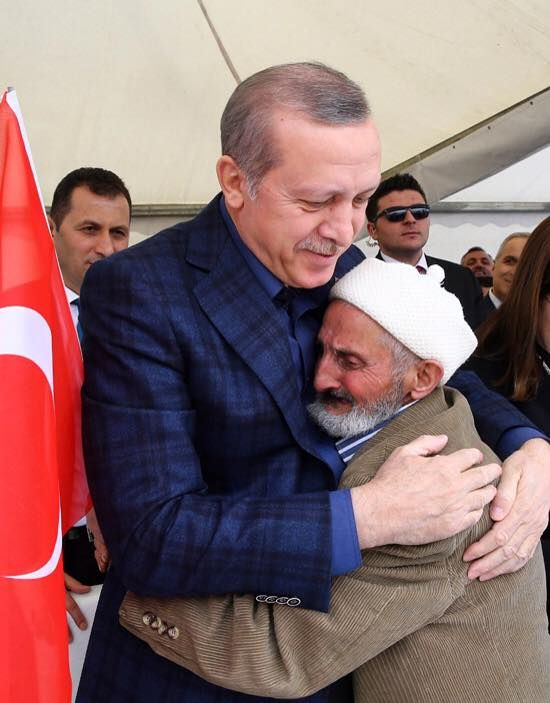 People love him - Erdogan!