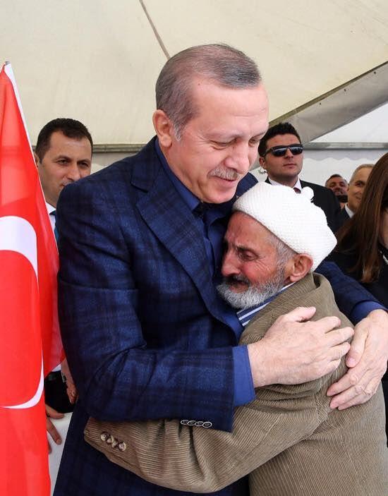 People love him - Erdogan!
