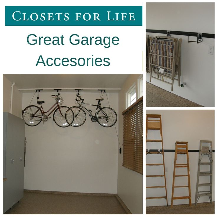 Garage Accessories - View our collection of garage accessories that are perfect for keeping items organized and your garage floor clear.
