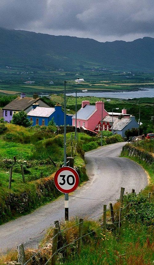 Allihies, County Cork, Ireland.  We stayed in a cottage in this little town while touring southwest Ireland.  I want to go back and pick up where we left off.  Very beautiful and unique.
