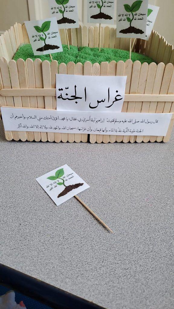غراس الجنة نشاط تعليم أذكار ما بعد الصلاة للأطفال رياض الجنة Ramadan Image