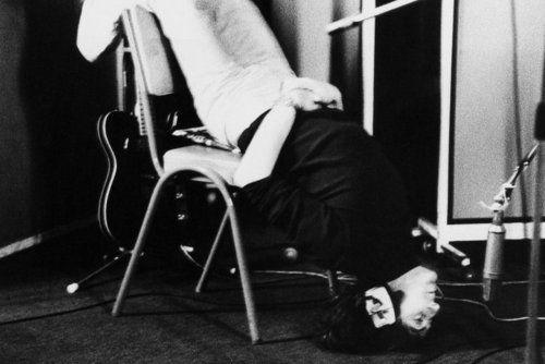 John Lennon recording Tomorrow Never Knows, 1966