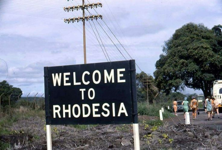 T T welcome to Rhodesia