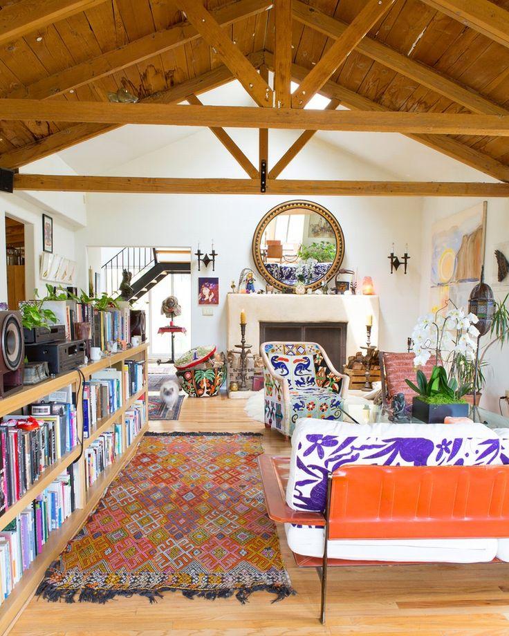 House Tour: A Colorful Topanga Canyon Home | Apartment Therapy