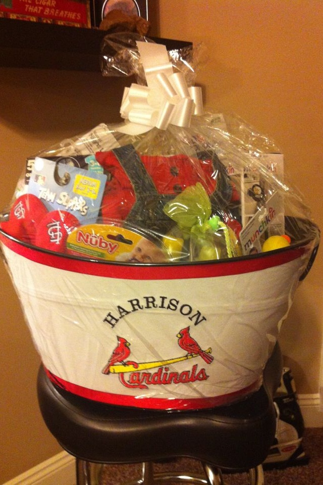 75 best take me out to the ballgame images on pinterest stlouis cardinals baby tin for harrison negle Images