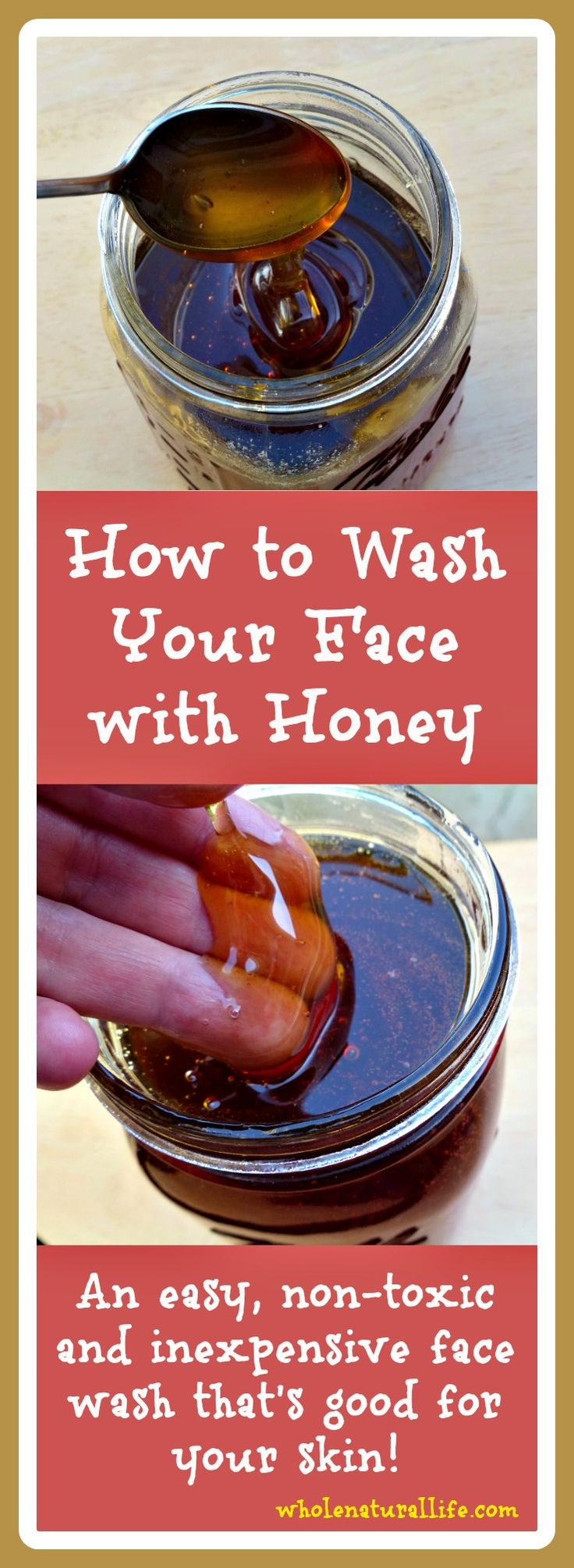 How to Wash Your Face with Honey
