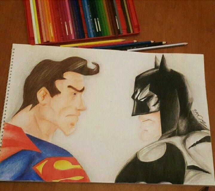 #batman #superman #dccomics #dc #hero #kahraman #müthiş #batmanposteri #supermans