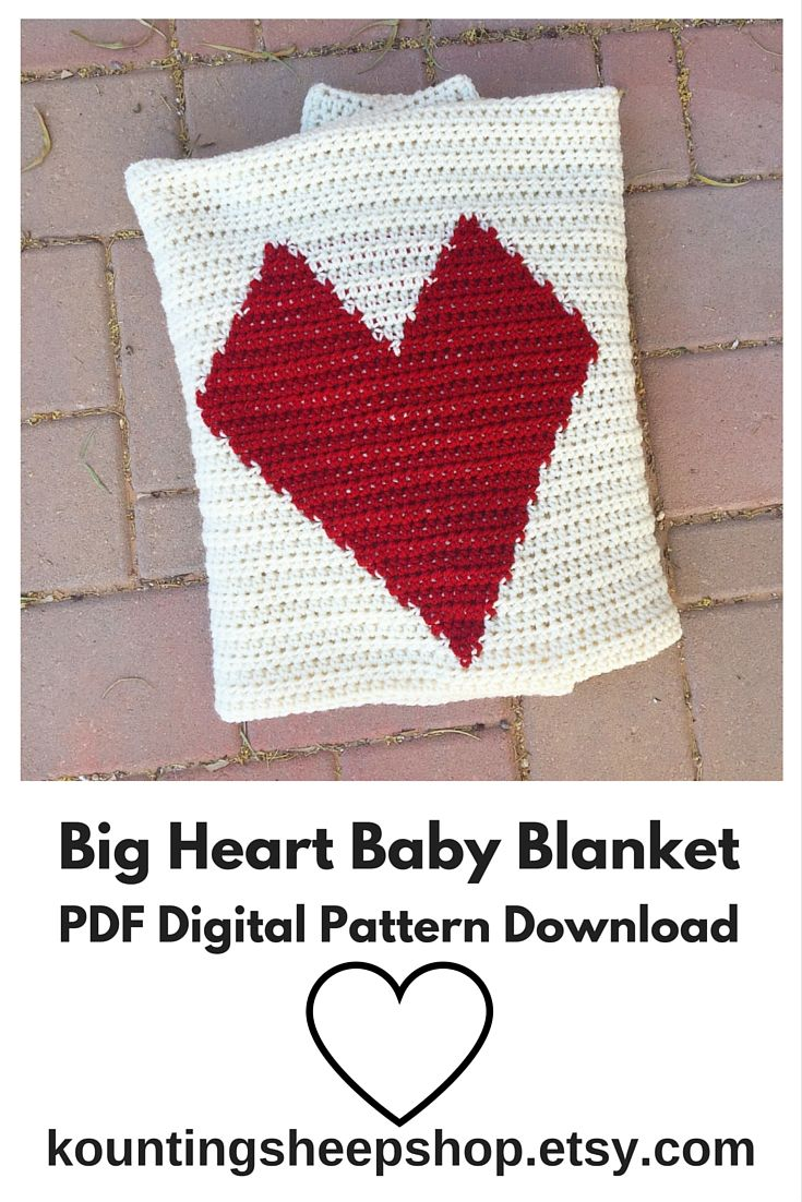 181 best baby blankets images on pinterest baby blanket patterns crochet pattern heart blanket crochet heart baby blanket pdf pattern crochet graph pattern instant download crochet pattern bankloansurffo Images