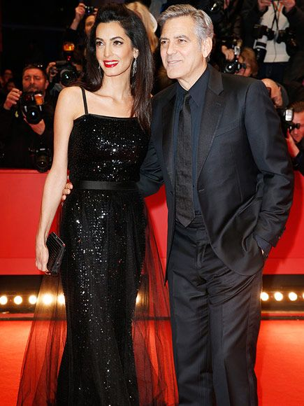 Amal Clooney Sparkles on the Red Carpet with George Clooney at Berlin Premiere of Hail, Caesar! http://www.people.com/article/amal-george-clooney-red-carpet-berlin-premiere-hail-caesar