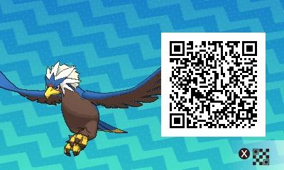 Shiny Braviary! Pokemon Sun / Moon QR Codes - Imgur