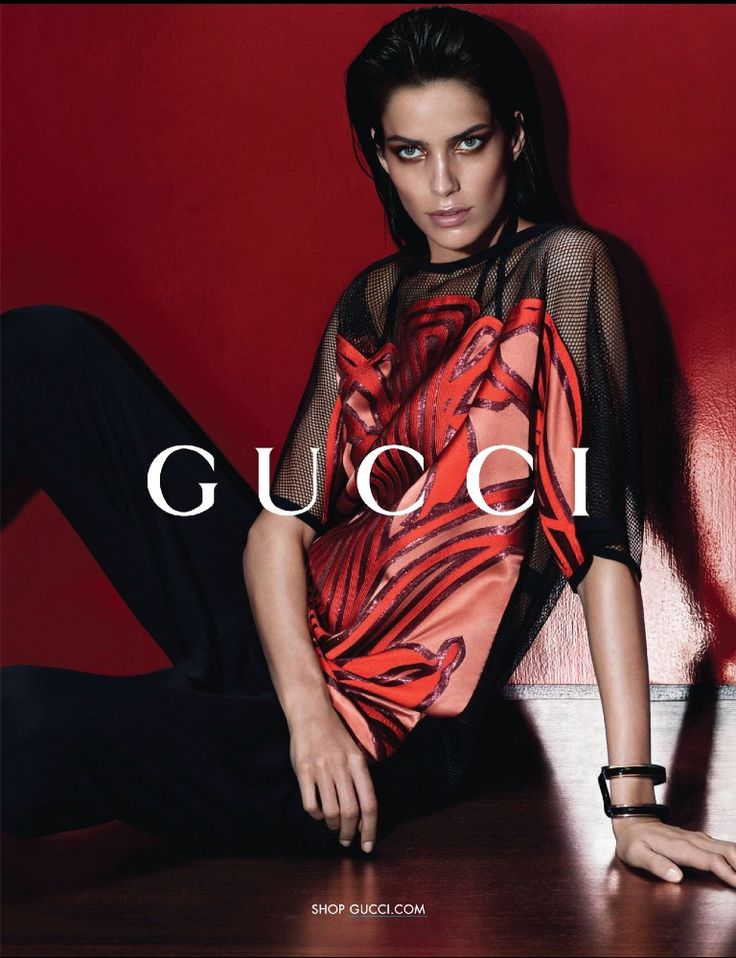 Amanda Wellsh by Mert & Marcus for Gucci S/S 2014 ...