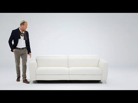 Just received 2 of these, super comfortable. Compact sofa – Volo | Italian modern furniture from Natuzzi Italia