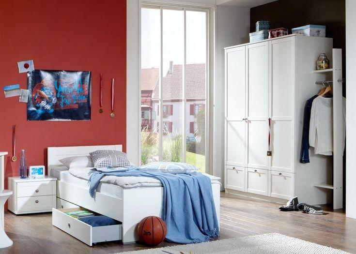 Die besten 25+ Jugendbett weiß Ideen auf Pinterest Jugendbett - esszimmer komplett g amp uuml nstig