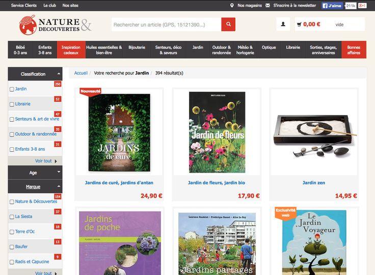 Nature & Découvertes choisit le moteur de searchandising AFS@Store d'Antidot pour améliorer la performance de son site web, en remplacement du moteur de recherche Celebros.