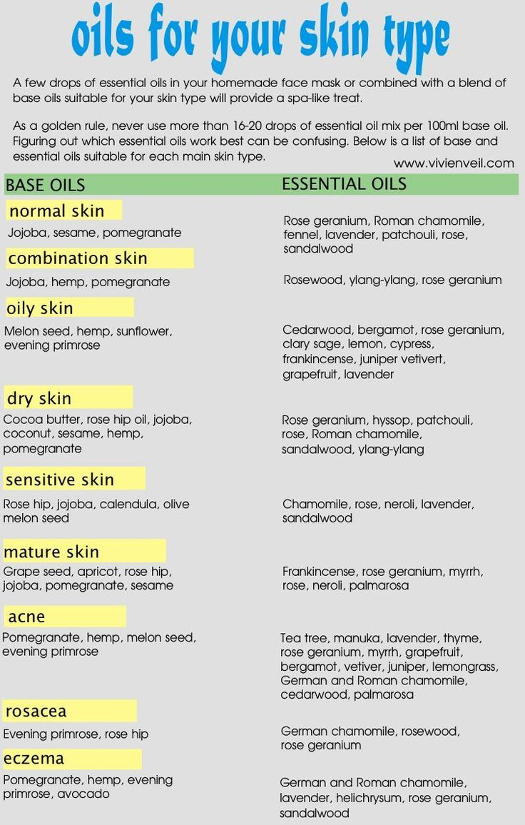 DIY Skin Care Tips : oil benefits for skin