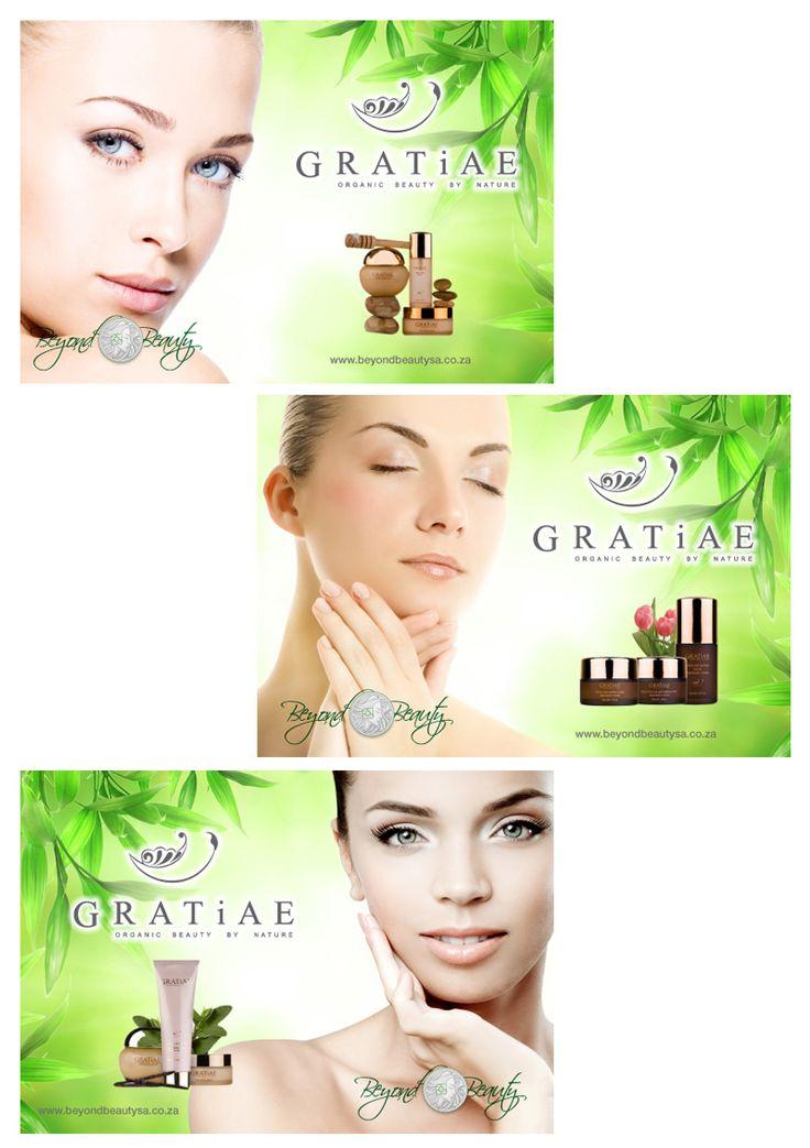 Beyond Beauty Kiosk Branding Posters