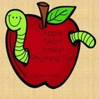 This is the perfect, super cute activity to teach and reinforce rhyming words with your class.  Students can match apples with rhyming pictures tog...