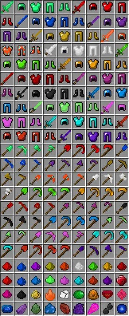 Todos los accesorios de minecraft