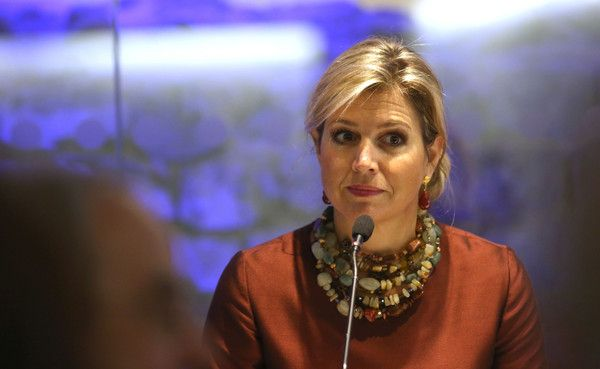 Queen Maxima Photos: Queen Maxima Of The Netherlands Attends 'Financial Inclusion: The Next Move Forward' Conference