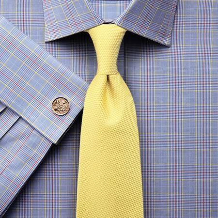 Sky Prince of Wales check classic fit shirt | Men's dress shirts from Charles Tyrwhitt | CTShirts.com