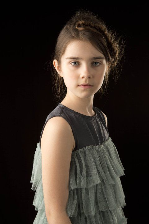 Sterling Jerins - actress - (b 05/06/2004 New York) known for And So It Goes, The Conjuring, No Escape, Dark Places - sister of Ruby Jerins, also an actress.