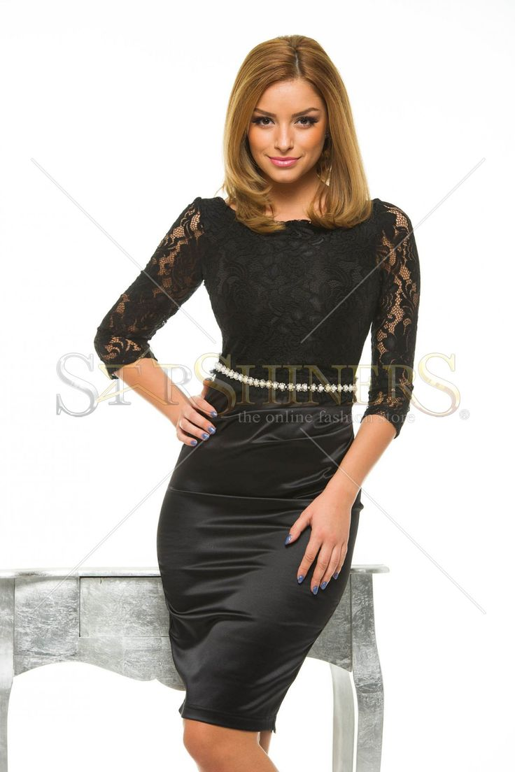 StarShinerS Gallantly Black Dress