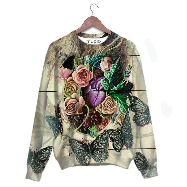 printed sweater Mupio by Artysta i Sztuka Available here: http://mupio.pl/ designer: Marta Julia Piórko