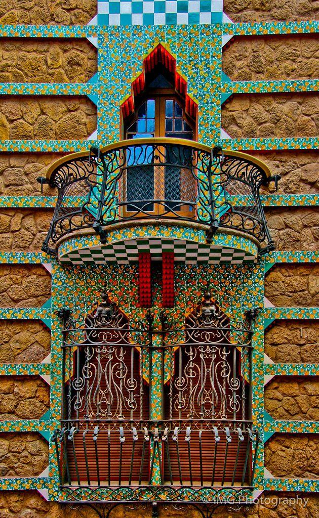 Casa Vicens ~ The work of Antoni Gaudi.  Barcelona | ©Ian Gampon