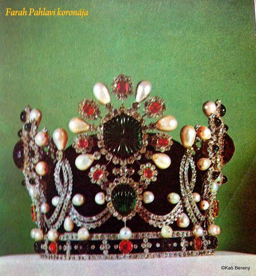 Farah Diba Pahlavi koronája
