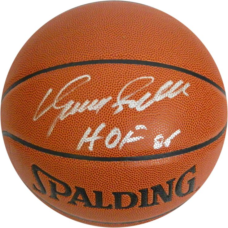 Dominique Wilkins Signed Basketball w HOF 06 Insc. - Hawks legend Dominique Wilkins has personally hand-signed this Basketball and inscribed it HOF 06-One of the NBAs true marquee players for more than a decade Dominique Wilkins earned the nickname The Human Highlight Film with a plethora of spectacular individual plays dating back to his college years at the University of Georgia. A member of the NBA All-Rookie Team in 1983 the high-flying 6-8 forward was named to seven All-NBA teams and…