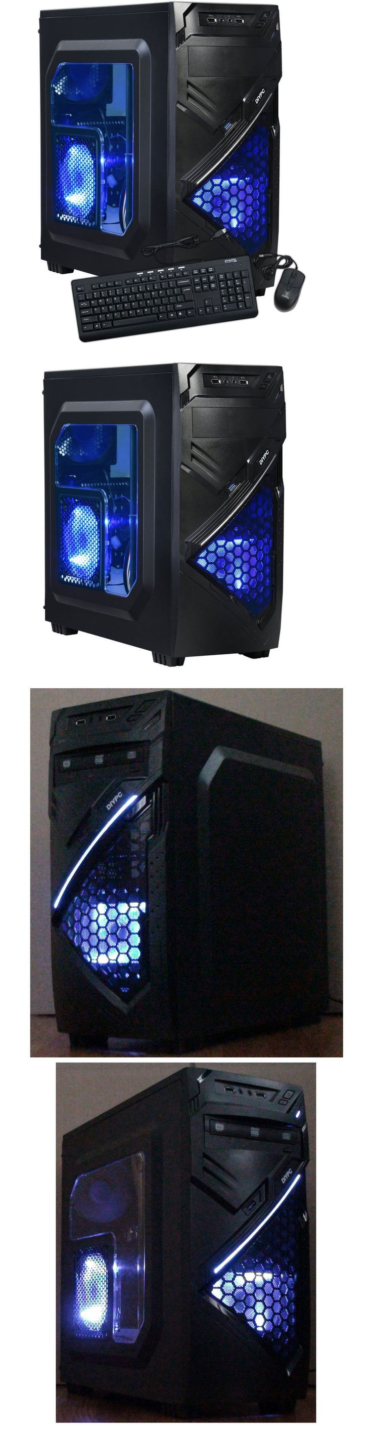 Computers Tablets Networking: Custom Amd 4.0Ghz Gaming Computer Desktop Pc System 2Tb 16Gb 1Tb 8Gb Hdmi New BUY IT NOW ONLY: $409.98