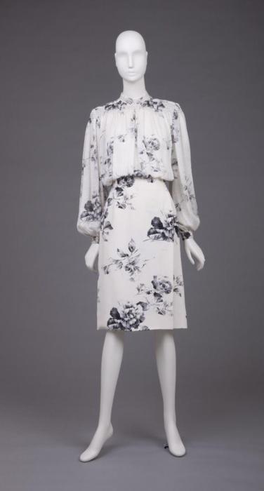 1980's Pauline Trigere Dress