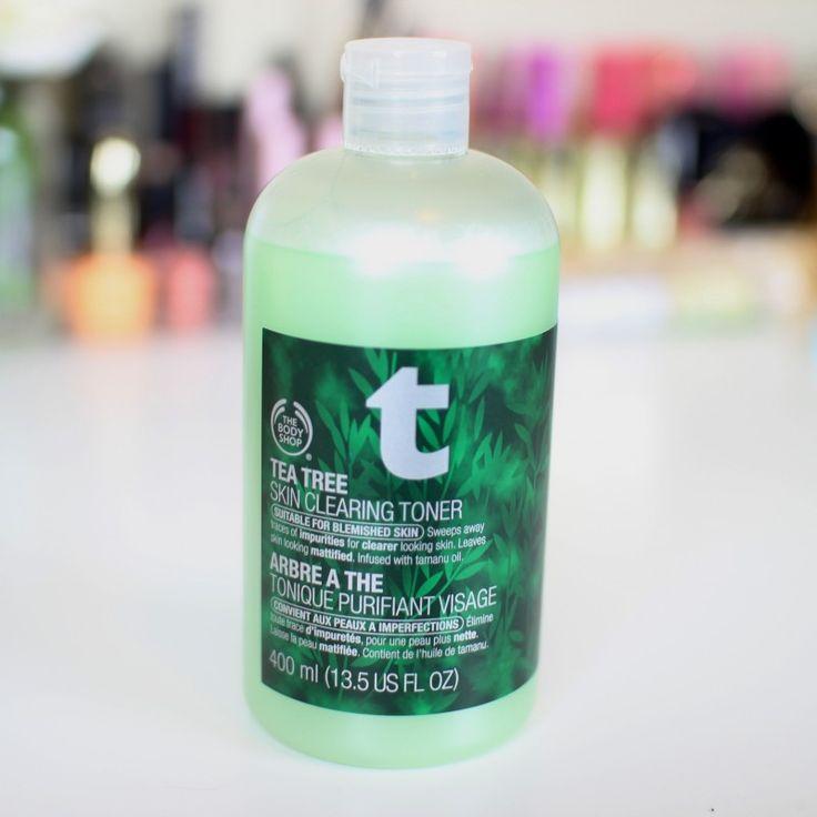 Tea tree oil daily facial toner