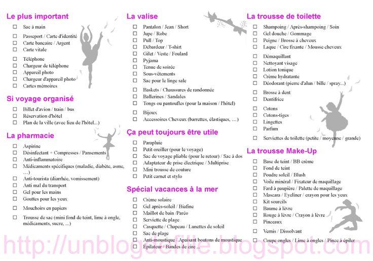 Un blog de fille: Comment préparer sa valise pour 2 semaines à la plage [Liste de voyage et DIY rangement inside !]