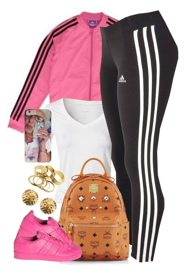 """""""Untitled #1331"""" by power-beauty ❤ liked on Polyvore featuring adidas Originals, Calvin Klein, adidas, MCM and Chanel"""