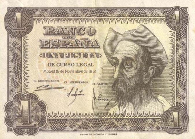 Don Quijote. 1 peseta                                                                                                                                                                                 Más