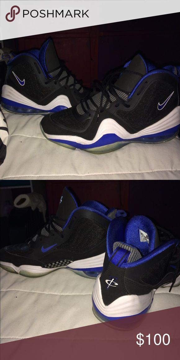 NIKE Penny Hardaway Basketball Shoes Damn Near New Nike Shoes Sneakers