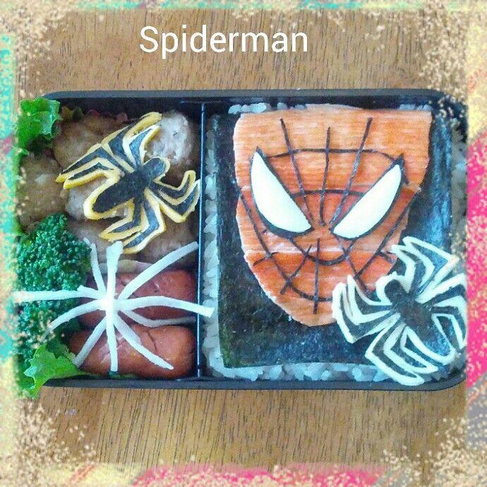 Spiderman · SpidermanBento Box ... & 26 best kids school bento-box lunch images on Pinterest   Bento ... Aboutintivar.Com