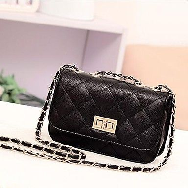 La moda de cuero de las mujeres de hombro lindo plateado Mini Cross Body Bag Handbag Purse – USD $ 10.99